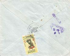 Iraq 1965 Baghdad Al-Mishkhalb Ramadan-Revolution Censored Cover - Irak