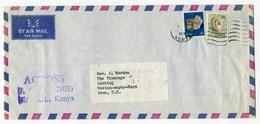 Kenya 1979 Circulated Cover - Minerals Geology 1977 Mollusc - Minerals