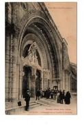 65 - LOURDES . L'Exergue De La Façade Du Rosaire - Réf. N°6508 - - Lourdes