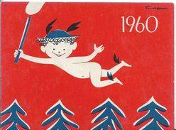 CALENDRIER 1960 BANQUE NATIONALE POUR LE COMMERCE ET L'INDUSTRIE - Calendars