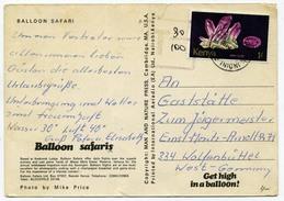 Kenya 1980 Circulated Postcard - Minerals Geology Gemstones 1977 - Minerals