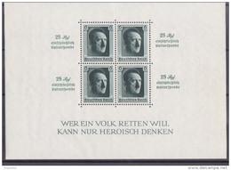 Mü_ Deutsches Reich - Mi.Nr. Block 9 - Postfrisch MNH - Blocks & Kleinbögen