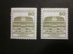 BRD Nr. 1140 C/D Postfrisch** (C2) - BRD
