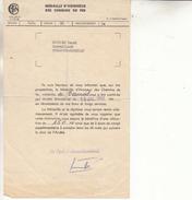 Medaille D'honneur Des Chemins De Fer-15 Juillet 1966-135mmx210mm - Transport