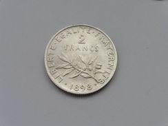 1898 : 2 F Argent Monnaie - Francia