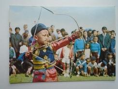 D155997  Mongolia   Archer Children  -  Bowman - Mongolia