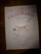 1915 L'ILLUSTRATION :Litho Couleur Gl HUMBERT; Découverte EROS à Palaïopolis ; Pubs (montre Zenith, Etc);Pages D'honneur - Zeitungen