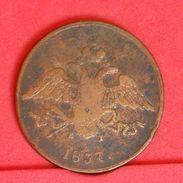 RUSSIA 5 KOPEKS 1837 -       (Nº19293) - Russia