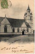 CRECY EN PONTHIEU - L'EGLISE - Other Municipalities