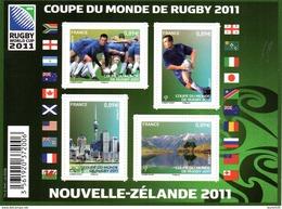 France. Bloc Coupe Du Monde De Rugby No F4576 N** - Neufs