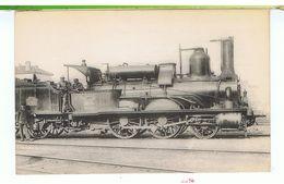 CPA-TRAINS-LOCOMOTIVES DU P.L.M-LOCOMOTIVE-MACHINE 853-A VAPEUR SATURÉE-CONSTRUITE DE 1856 A 1865-CLICHE H.FOHANNO- - Eisenbahnen