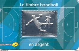 France.timbre Adhesif No 738 Handball En Argent De 2012.n**. - France