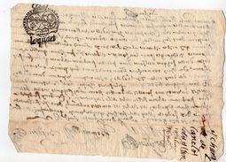 1680 - Document Manuscrit - Généralité D'Alençon - Taxe 6 Deniers Le Quart  (1/4 De Feuille) - Seals Of Generality