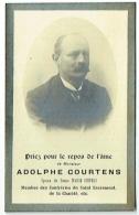 Doodsprentje/Image Mortuaire. Courtens/Cieters. Termonde 1862/1919. - Images Religieuses