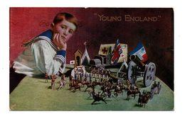 """ROYAUME-UNI . """" YOUNG ENGLAND """" . Militaire . Soldats De Plomb . Jouet - Réf. N°6520 - - Unclassified"""