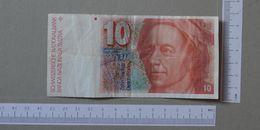 SWITZERLAND 10 FRANCS 1979-92 -       (Nº19309) - Switzerland