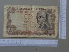 SPAIN 100 PESETAS 1970 -       (Nº19311) - [ 3] 1936-1975 : Regency Of Franco