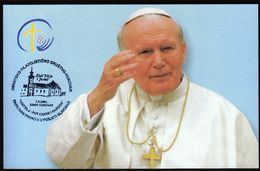 Croatia Vukovar 2003 / Pope John Paul II In Đakovo And Srijem Diocese / Family - The Path Of The Church And The Nation - Papes