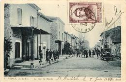 Saint-Andiol. La Rue Du Moulin - France
