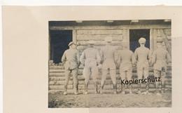"""AK """"Druck A.d. Blase"""" - Guerra 1914-18"""