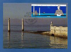 Portugal  1995  Mi.Nr. 2074 ,  EUROPA CEPT - Frieden Und Freiheit - Maximum Karte - CTT LISBOA  5/5/95 - Europa-CEPT