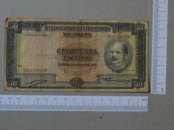 MOZAMBIQUE 50 ESCUDOS 1958 -       (Nº19335) - Portugal