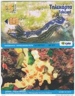 CYPRUS - Underwater 2(5 Euro), Tirage 20000, 01/10, Used - Cyprus