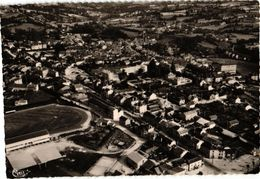87 .. BELLAC .. VUE GENERALE AERIENNE  ..  STADE  ...1957 - Bellac
