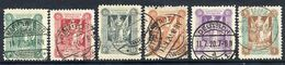 MARIENWERDER 1920 First Definitive Issue, Six Values On Thin Paper, Used.  Michel 1-4y, 8y, 11y  €30 - Germany