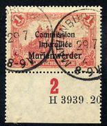 MARIENWERDER 1920 (16 July) Overprint On 1 Mk. With HAN, Used, Signed Klein.  Michel 26 HAN A  Cat. €140 - Deutschland