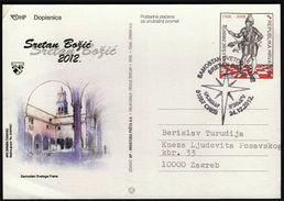Croatia Cres 2012 / Christmas / Monastery Of St. Francis - Weihnachten