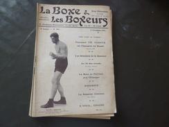 Revue La Boxe Et Les Boxeurs 1913 N°205 Young Ahearn Gavigan Moran Bernard     23 Pages   Textes Photos + Pub - Livres, BD, Revues