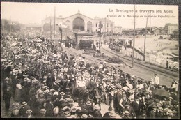 44      NANTES    Arrivée De La Musique Républicaine     Gare D'Orléans - Nantes