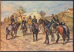 °°° 9947 - G. FATTORI - PATTUGLIA LANCIERI °°° - Regiments
