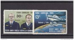 Cuba Nº 1210 Al 1211 - Cuba