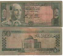 AFGHANISTAN  50 Afghanis     (1961)   P39   Circulated - Afghanistan