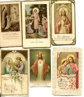 N°58904 -lot 6 Images De Communions - Devotieprenten