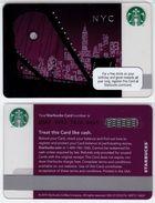 Starbucks - USA - 2010 - CN 6067 NYC - Gift Cards