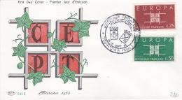 France 1963 FDC Europa CEPT    (DD14-6) - Europa-CEPT