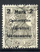 MARIENWERDER 1920 (11 May) Surcharge 2 Mk./ 2½ Pf. Type A I B B I, Used.  Michel 23 A I B B I Cat. €140 - Germany