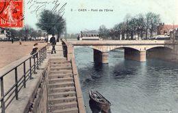 Cpa Caen 14 Calvados Pont De L'orne - Caen
