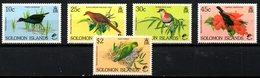 SALOMON. N°706-10 De 1990. Colombe/Perroquet/Birdpex'90. - Other