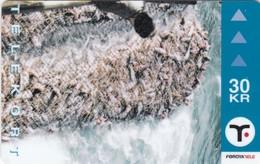 Faroe Islands, OD-027,  30 Kr , Faroese Trawling, 2 Scans. - Faroe Islands
