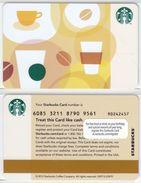 Starbucks - USA - 2012 - CN 6085 Coffee Bean - Gift Cards