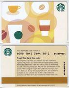 Starbucks - USA - 2012 - CN 6089 Starbucks - Gift Cards