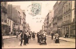 44      St NAZAIRE    Rue AMIRAL COURBET     HT LI Editeur    1907 - Saint Nazaire