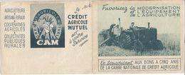 1949 -FAVORISEZ LA MODERNISATION ET L'EQUIPEMENT DE L'AGRICULTURE EN SOUSCRIVANT AUX BONS A CINQ ANS DE LA CAISSE NATION - Calendars
