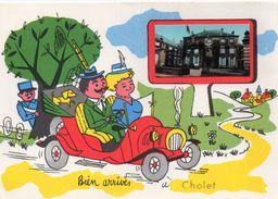 """Cholet Belle Fantaisie Humour """"Bien Arrivés à Cholet"""" - Cholet"""