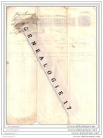 33 326 BORDEAUX 1851 BEDARIEUX CHALABRE RIOLS Draperie GAUTARD Fils - LIMOUX CASTRES LAVELANET LODEVE LIZIEUX ˆ  REVERS - France