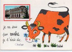 Cholet Belle Fantaisie Humour Vache L'Ancien Théâtre - Cholet